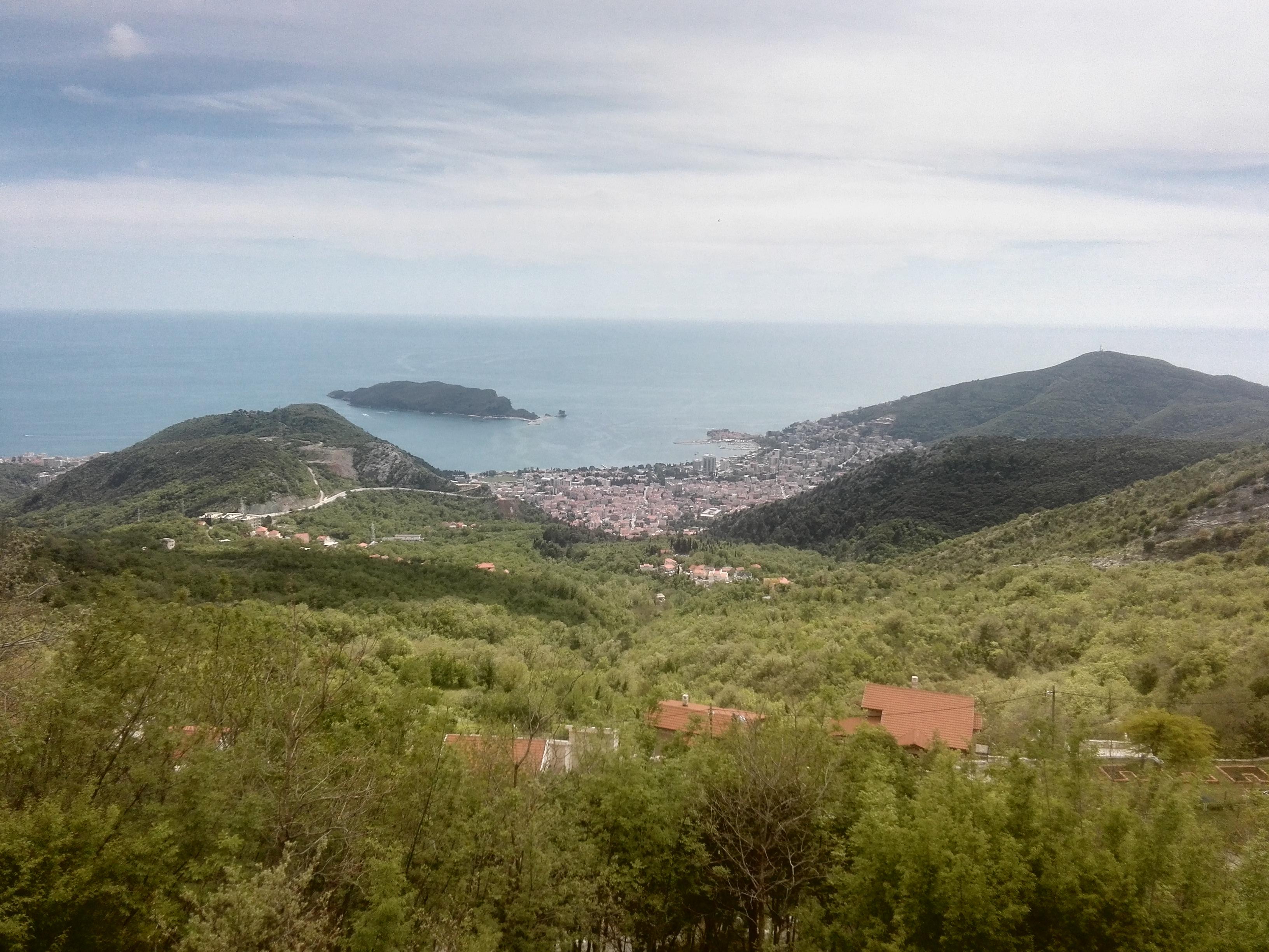 Černohorská Budva, jedna z perel jaderského pobřeží
